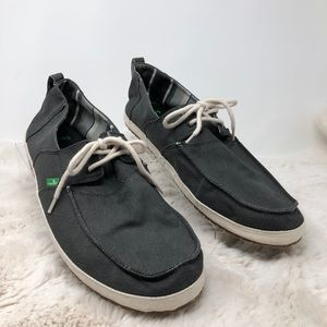 Sanuk Lace Up Shoes